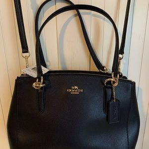 Coach crossbody purse. Navy blue. New with tags